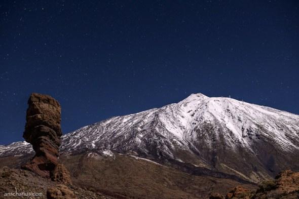 Roque Chinchado & El Teide - Nikon D800E