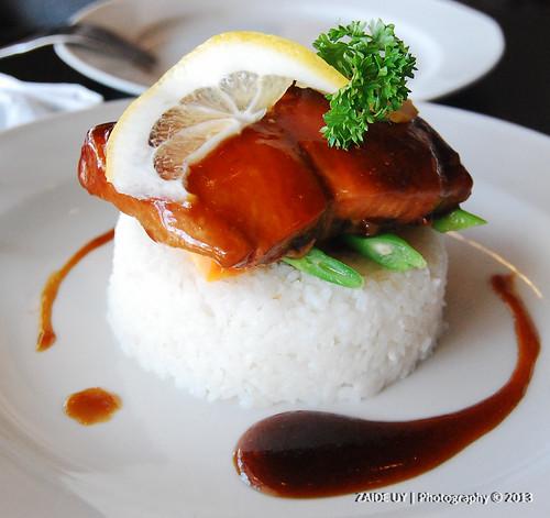 Norwegian Salmon Terriyaki