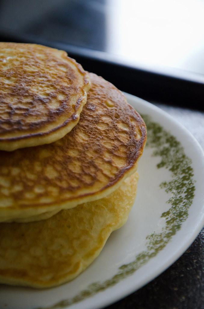 001: pancakes