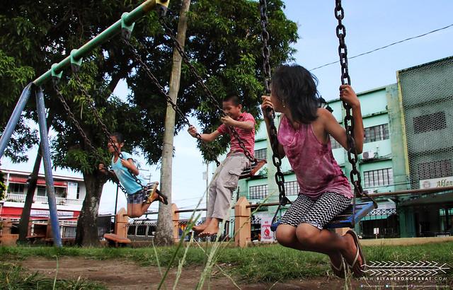 Children Swing Pastrana Park Kalibo Aklan