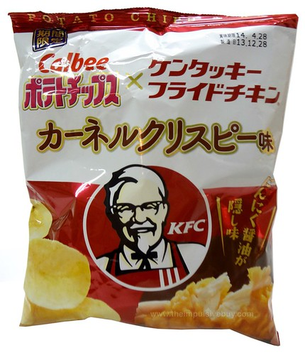 Calbee Kentucky Fried Chicken KFC Colonel Crispy Potato Chips
