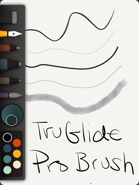 Paper Demo with TruGlide Pro Brush