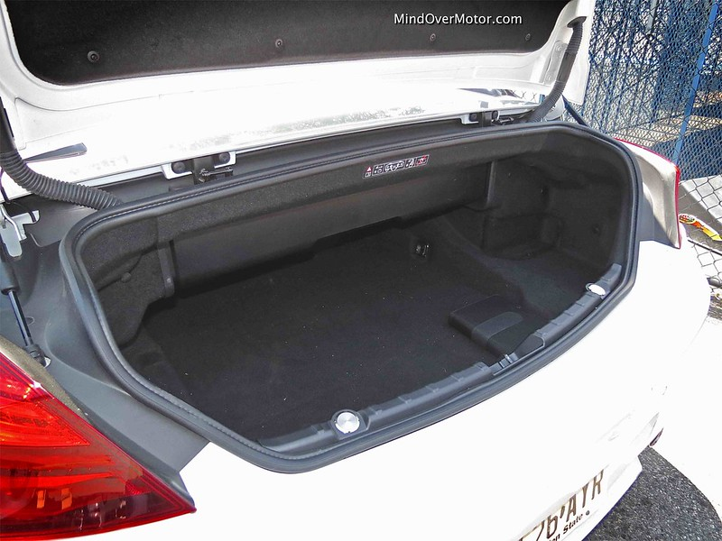 2014 BMW M6 Convertible Trunk