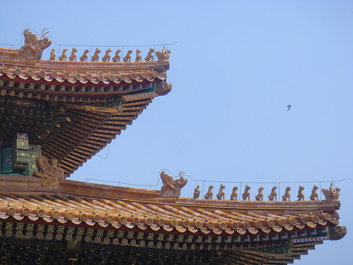 "The more ""sculptures"" there were on the roof, the more power it signified"