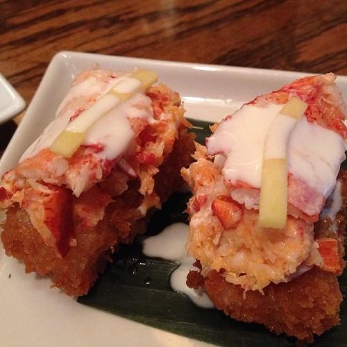 Sushi lobster