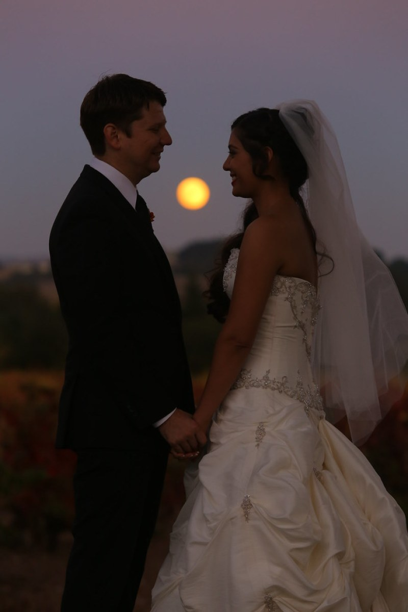 Full Moon Winery Wedding
