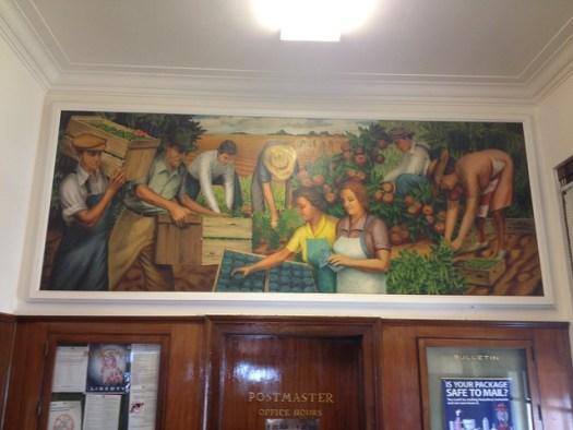 Crystal Springs Post Office Mural