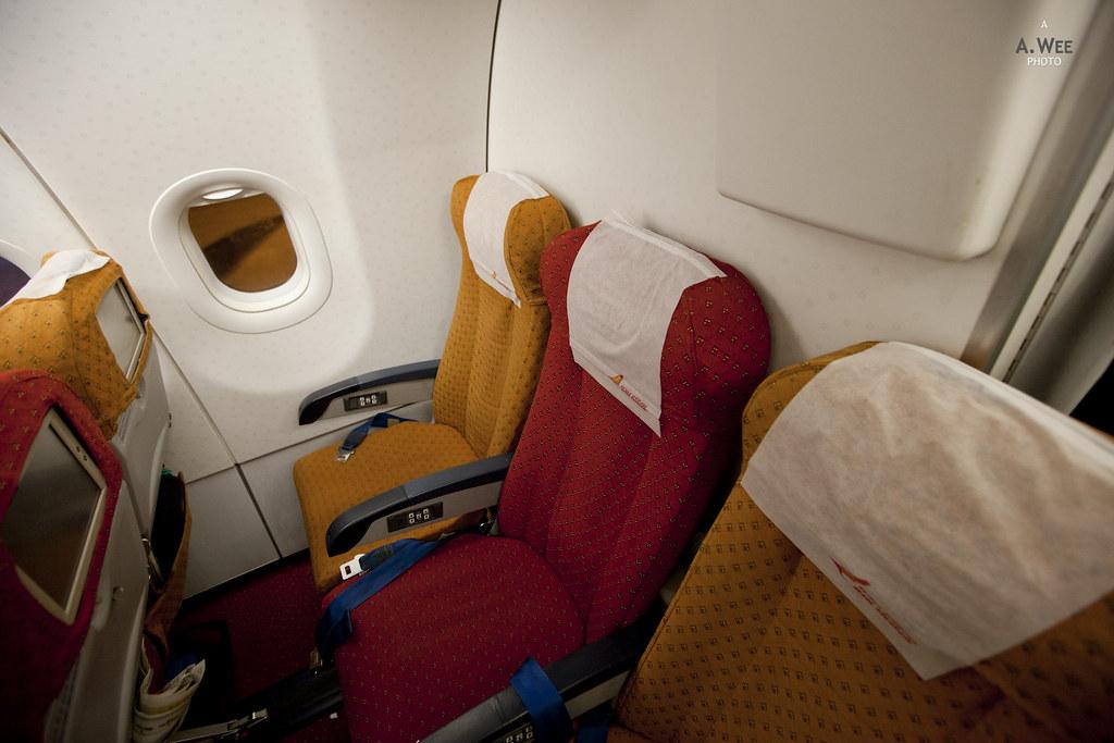 Last row seats on AI Airbus A321