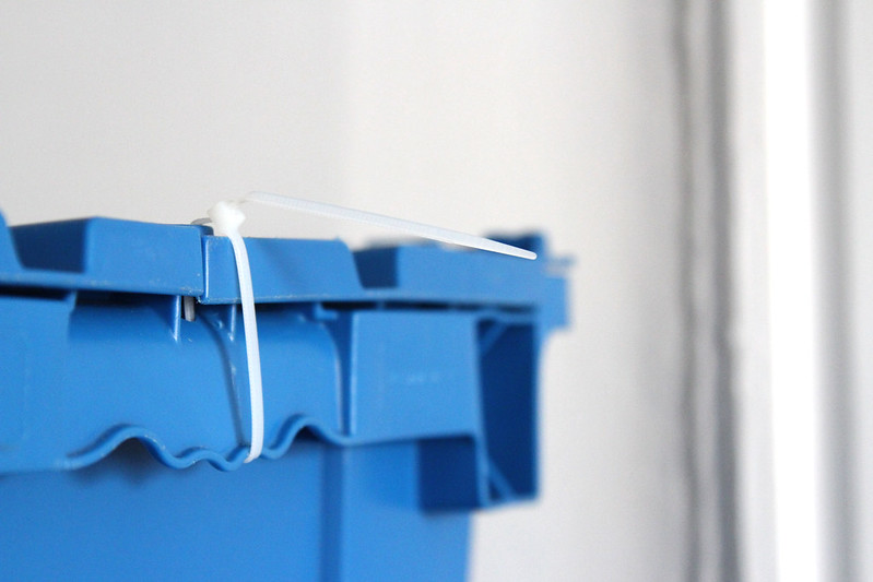 binit blue bins