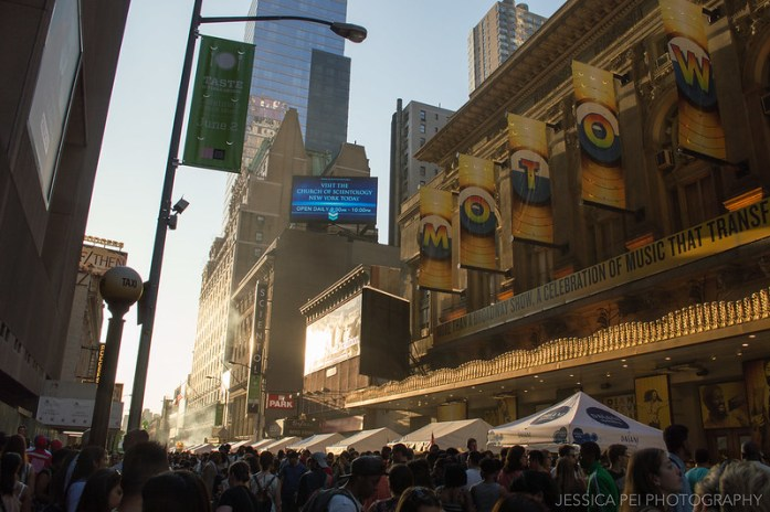 Taste of Times Square 2014 in New York City