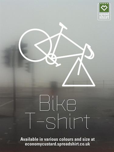 Bike T-shirt by Simon Sharville
