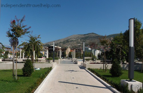 New park, Mostar