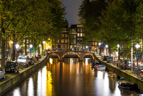 Canals at night (Explored)