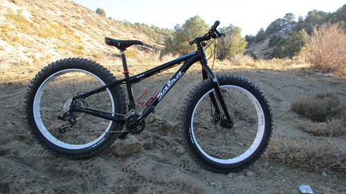 Fat Bikes in Sand Canyon