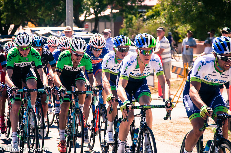 Gerrans tucked in behind his team