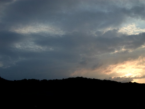 Sunset in Val La Vezere