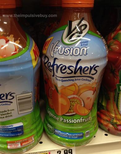 V8 V-Fusion Refreshers Tangerine Passionfruit