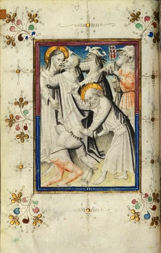 006-Fol 13v-W.165, HORAS DE LOFTIE -  Siglo XV-The Digital Walters