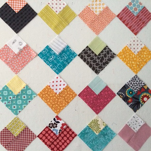 I wish I can just come up with a name for every new quilt... But i'm usually stumped... by flekka