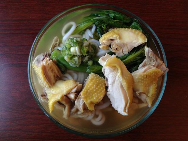 Hai nan chicken soup - Cafe Encore