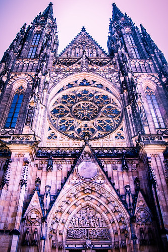 St Vitus Cathedral. Prague Castle