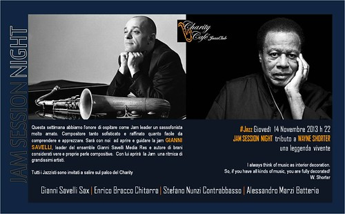 Gianni Savelli JAM SESSION tributo a Wayne Shorter by cristiana.piraino