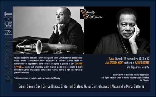 Gianni Savelli JAM SESSION tributo a Wayne Shorter by cristiana.piraino