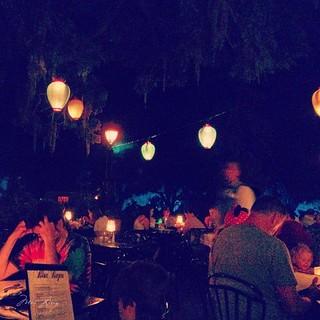 the Blue Bayou restaurant