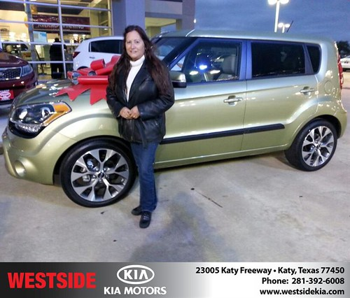 Thank you to Sabas Quirch on your new 2013 #Kia #Soul from William Hadnott and everyone at Westside Kia! #NewCar by Westside KIA