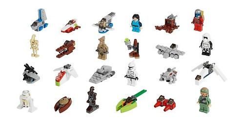Advent Calendar Star Wars 2013 75023