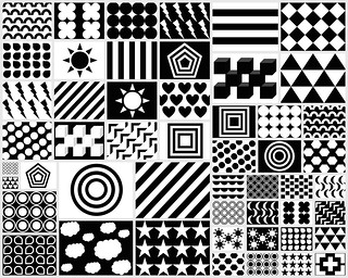Cool images for babies to look at black and white shapes