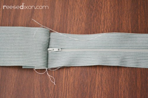 Upholstered Bench Cushion Tutorial Step 2