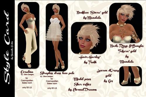 stylecard golden blond