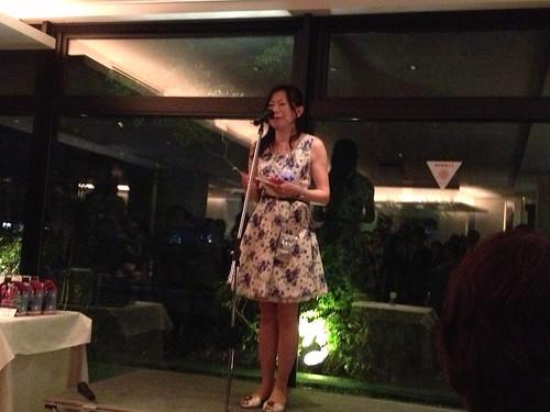 たかせ藍沙さん@「Love!Rose」出版記念パーティ
