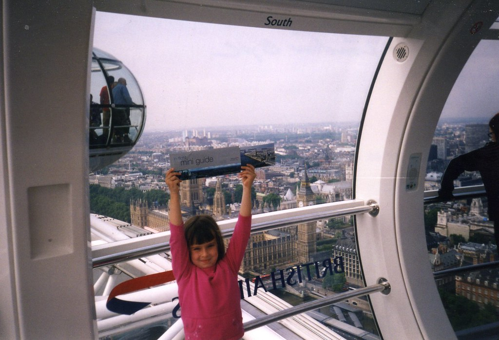 7-2003, London, UK, London Eye, Logan091