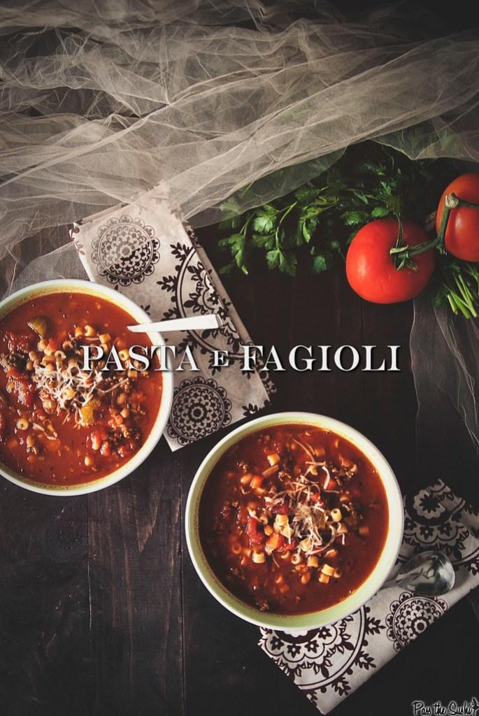 Copycat Pasta e Fagioli {Girl Carnivore}