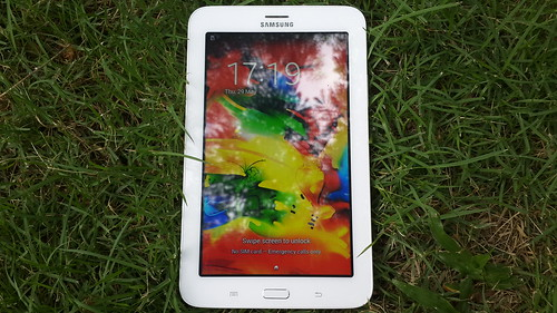 Samsung Galaxy Tab 3 Lite ด้านหน้า
