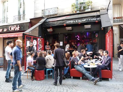 Sly Bar terrace