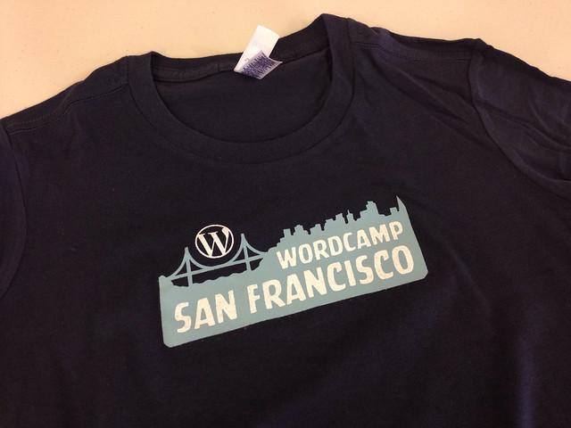 WordCamp SF 2013 T-shirt