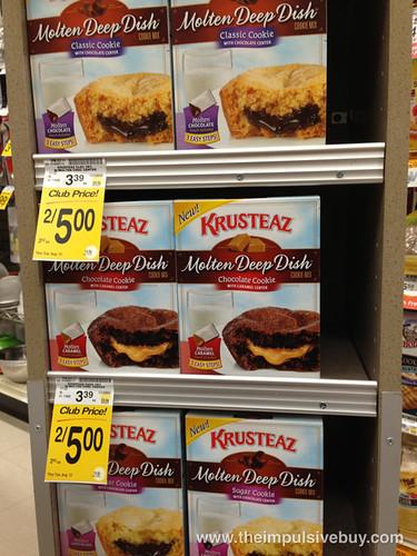 Krusteaz Molten Deep Dish
