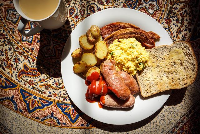 Stupendous breakfast
