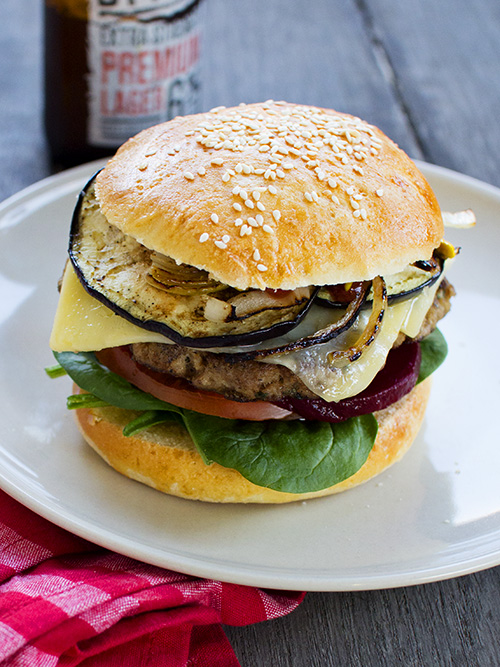 lamb burger (our way)