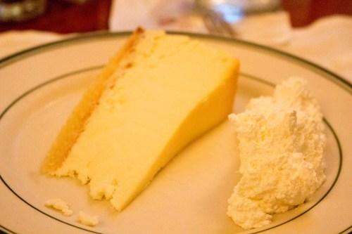 ウルフギャングのチーズケーキ
