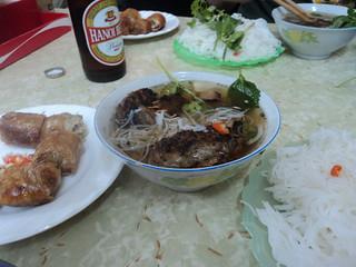 Amazing bun cha Hanoi