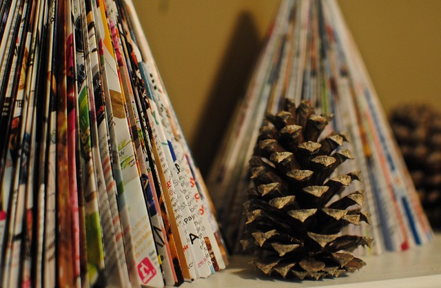 Paper Trees and Pinecones