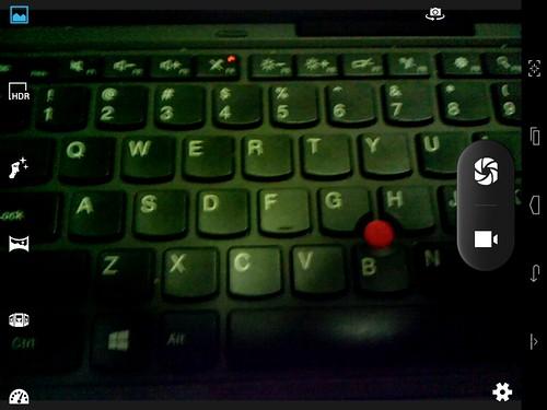 User Interface กล้องของ Mondo Motion 7801Q