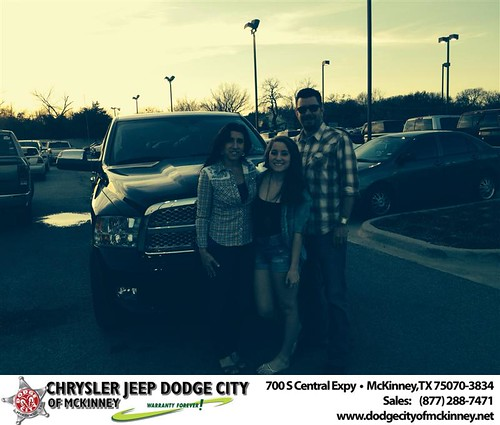 Thank you to Jennifer Chandler on your new 2012 #Ram #1500 from Dale Graham Graham and everyone at Dodge City of McKinney! by Dodge City McKinney Texas