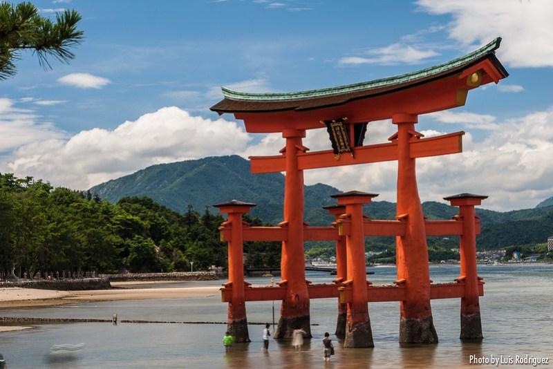 Miyajima, parte del Nihon Sankei