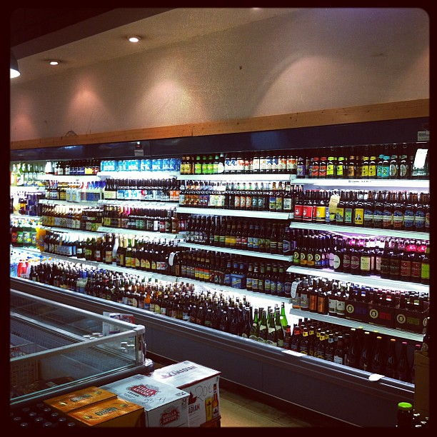 The new refrigerated beer set up at @bradleys_offlic is a treasure in a city where chilled #beer is DIY. #cork #bestofcork