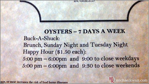 Merchant's Oyster Bar, Vancouver
